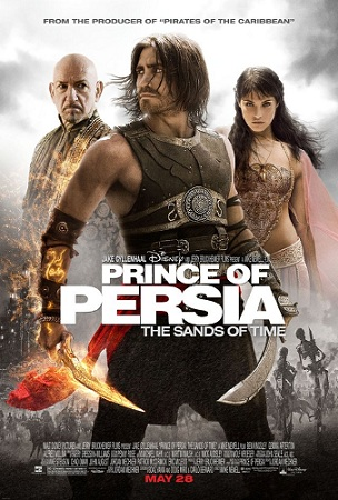 Movie Poster for Prince of Persia: The Sands of Time